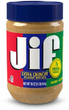Jif Peanut Butter safe Container